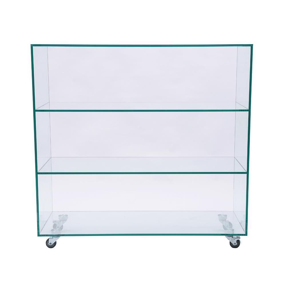 Piso en vidrio con lamina de seguridad - Separadores de ambientes de cristal ...